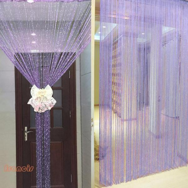 Mành, rèm cửa sợi kim tuyến lấp lánh 1mx2m trang trí nhà cửa, làm vách ngăn phòng, rèm cửa ra vào, rèm cửa sổ, sợi kim sa trang trí phông rạp cưới, spa cao cấp sang trọng