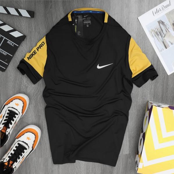 Áo thun thể thao nam, áo thun nam cổ tròn tay ngắn thể thao chất liệu thun lạnh co giãn 4 chiều AT13