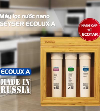 Máy Lọc Nước Nano Geyser Ecolux A madel in Rusia
