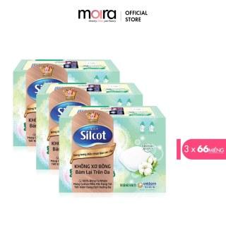 Bộ 3 hộp Bông tẩy trang cao cấp Silcot Premium 66 miếng hộp thumbnail