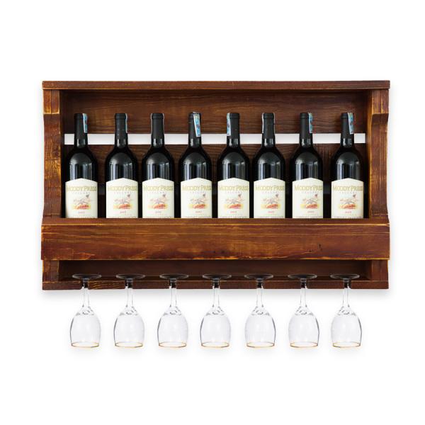 Kệ Rượu Treo Tường KR26