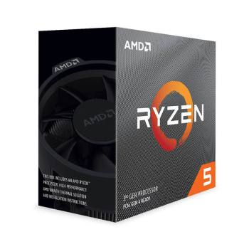 Bộ vi xử lý AMD Ryzen 5 3600, with Wraith Stealth cooler/ 3.6 GHz (4.2 GHz with boost) / 32MB / 6 cores 12 threads /65W