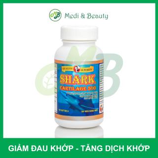 [ CHÍNH HÃNG ] TPCN Giảm đau khớp - Tạo sụn khớp - Giúp khớp linh hoạt SHARK CARTILAGE 500mg - Chai 100 viên thumbnail