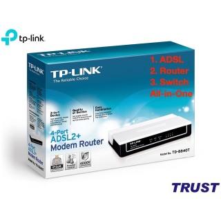 HÀNG CHÍNH HÃNG - ADSL Modem TP-LINK TD-8840T thumbnail