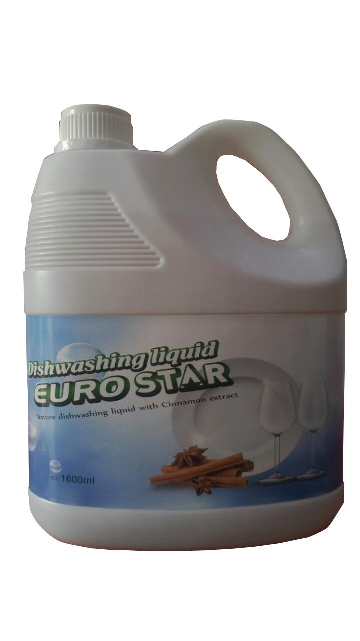 Nước Rửa Chén EuroStar Hương Quế 1600ml