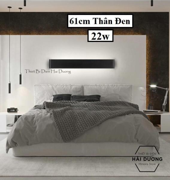 Đèn hắt tường mỏng 2 đầu kiểu dáng hiện đại size 61cm - 22w - TN185