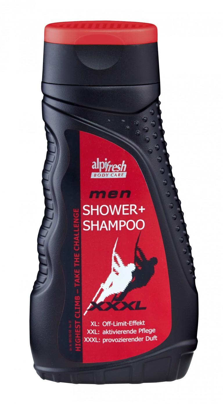 Sữa Tắm Và Gội Alpi Fresh Men Shower Shampoo Dành Cho Nam 300m - Đức chính hãng