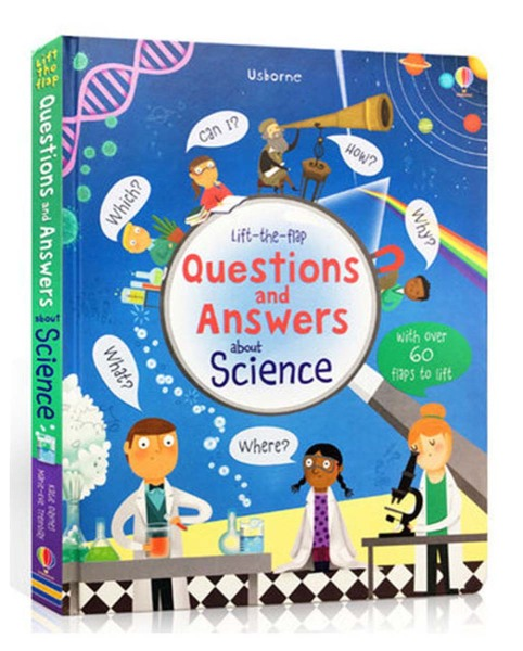 Sách : Lift-The-Flap Questions and Answers about Science