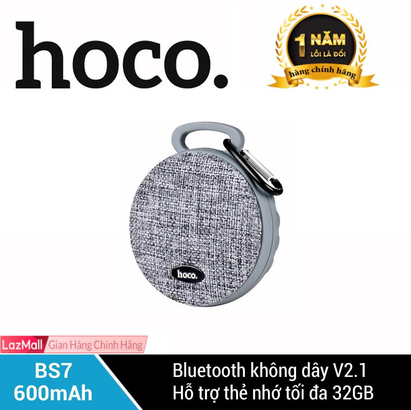Loa Bluetooth Hoco BS7 600mAh - Hãng phân phối chính thức Nhật Bản
