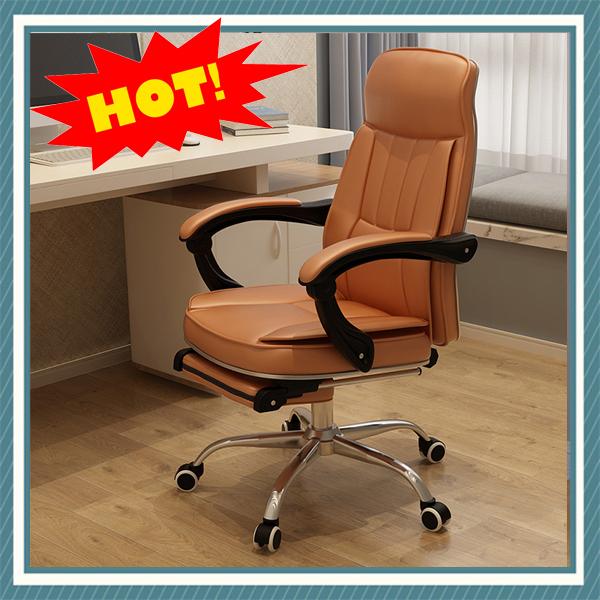 Ghế da văn phòng cao cấp nhập khẩu M028-2 (có gác chân giá rẻ