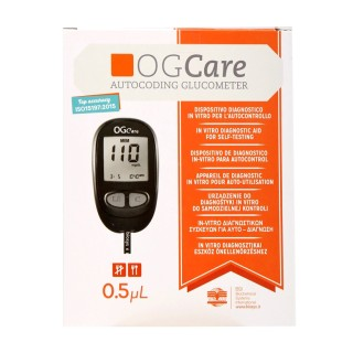 [BH TRỌN ĐỜI] - Máy đo đường huyết OGCARE - chính hãng thumbnail