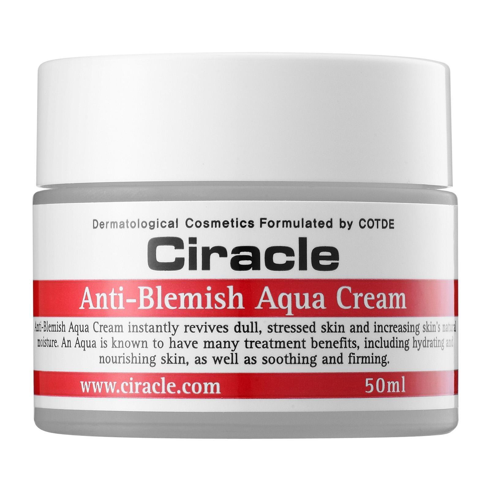 Kem Dưỡng Da Trị Mụn Ciracle Anti-Blemish Aqua Cream (50ml)