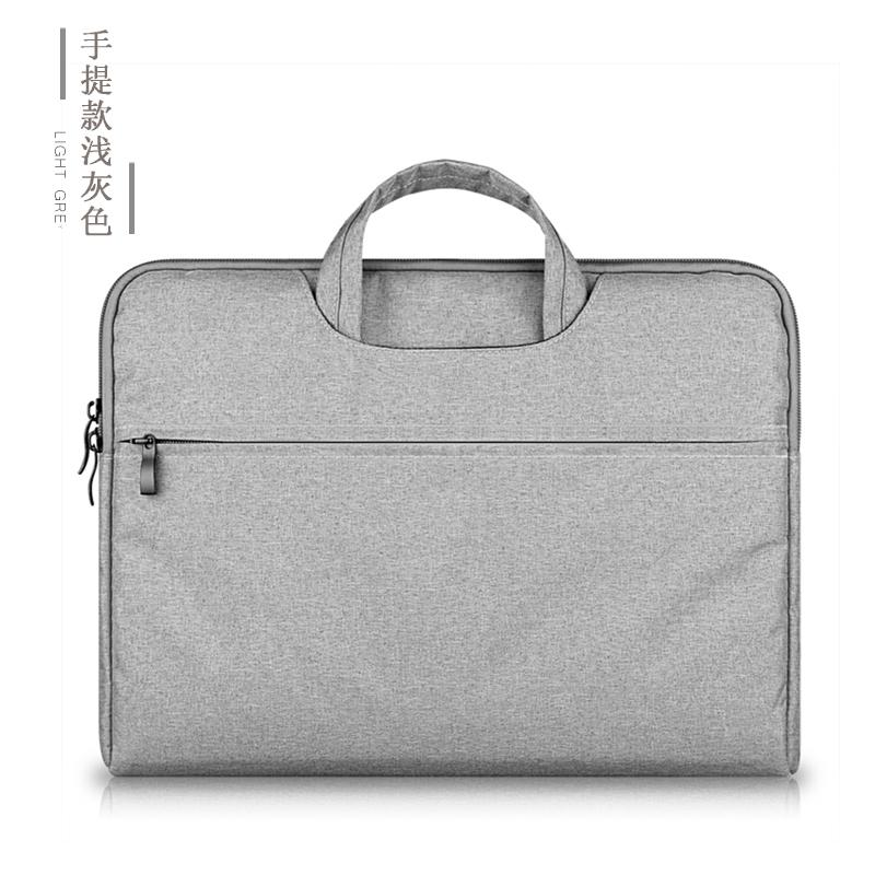 Apple Asus Laptop MacBook Computer Bag Hand Air Female 12 Male 15.6-Inch 14 Dell HP 13.3 Briefcase Pro File Simple 11 Canvas Inner Wearing One-Shoulder ThinkPad