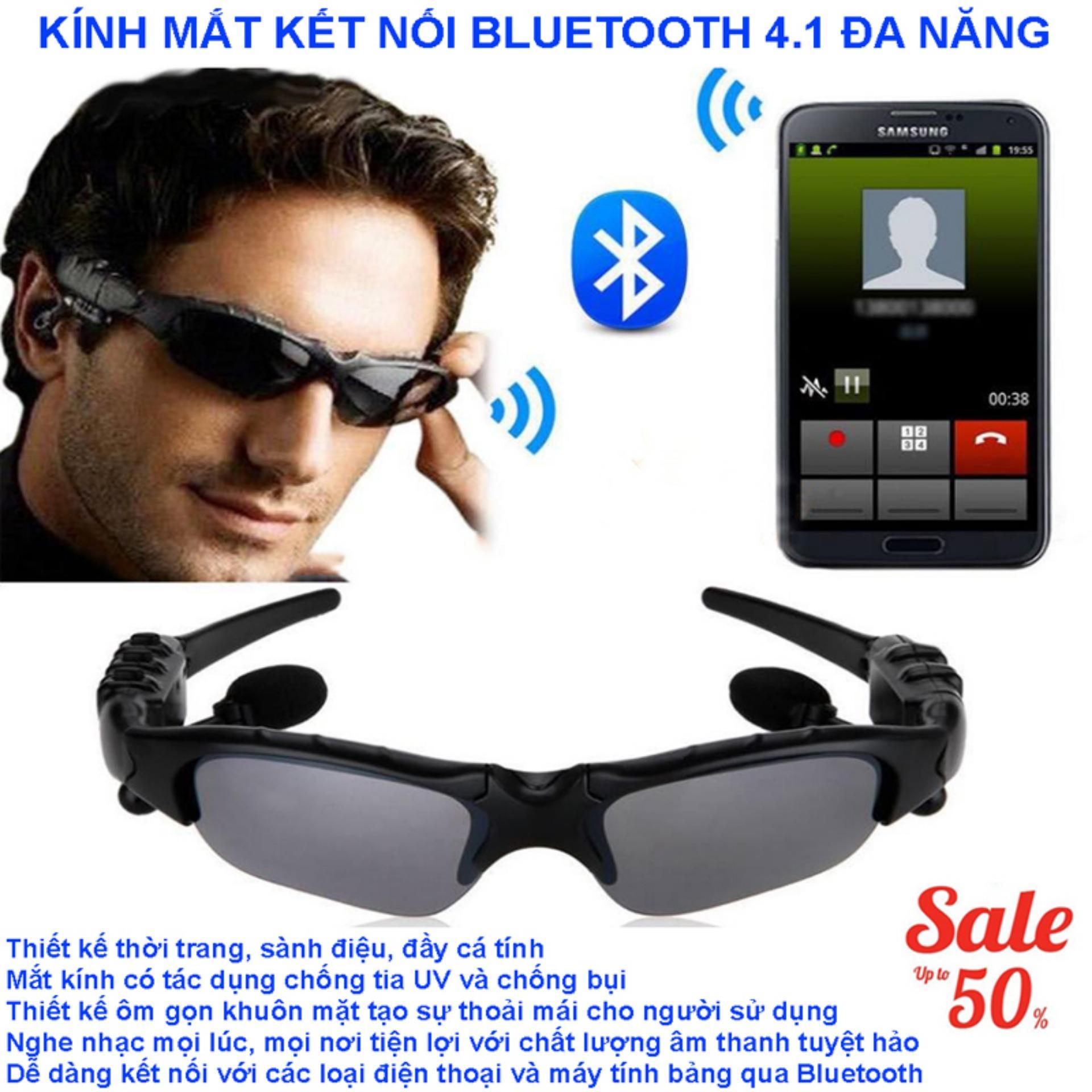 Giá Mắt Kính Có Tai Nghe Bluetooth, Mắt Kính Bluetooth Mp3, Mắt Kính Bluetooth 4.1 Thông Minh Đa Chức Năng Bảo Hành Uy Tín Trên Toàn Quốc Sale 50%