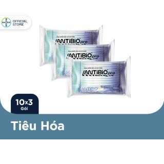 Bộ 3 Phẩm Bảo Vệ Sức Khoẻ Bổ Sung Lợi Khuẩn Antibio pro 10 Gói Túi - 1g Gói thumbnail
