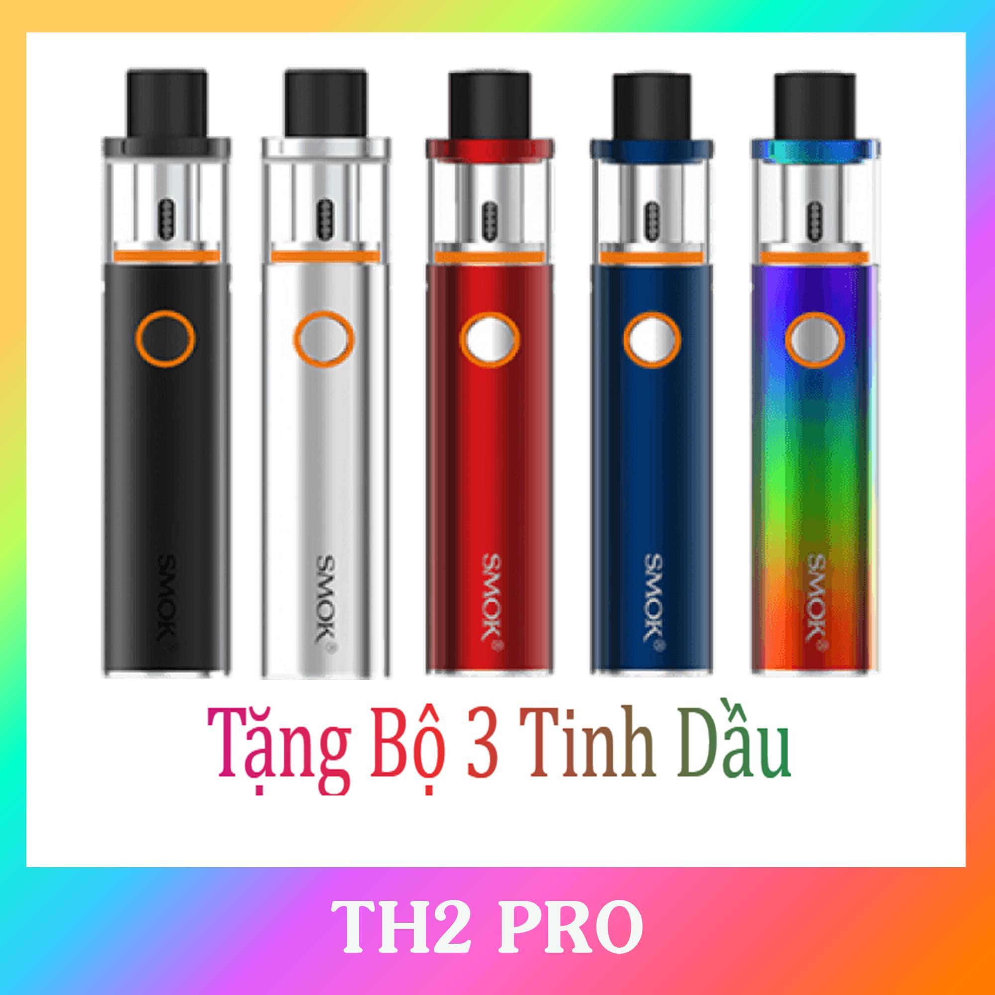 Vape Smok Pen 22 50w - Siêu Khói Tặng Bộ 3 Lọ Tinh Dầu Siêu Chất Lượng