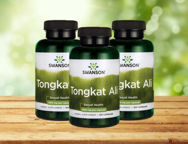 Tongkat Ali Swanson Passion 400mg chai 120 viên Date 2023
