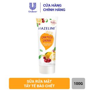Sữa rửa mặt Hazeline Tẩy tế bào chết Cam Yuzu và Cherry 100g thumbnail