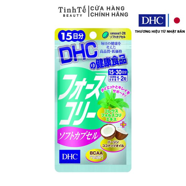 Viên uống Giảm cân bổ sung Dầu dừa DHC FORSKOHLII 15 ngày giá rẻ