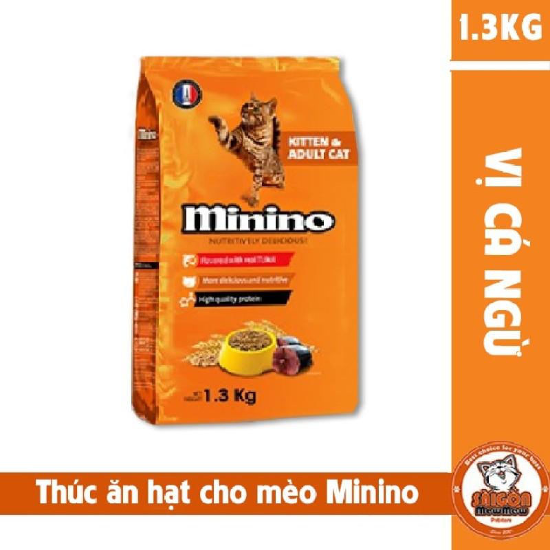 Thức ăn hạt cho mèo Minino (1.3kg)