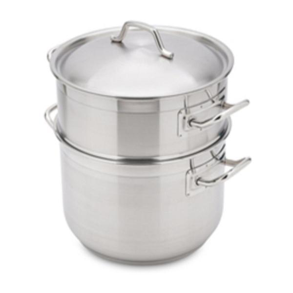 Bộ xửng hấp 3 đáy inox 430 FiveStar Standard  bếp từ nắp inox ( 28cm )- Shop Bếp Xinh
