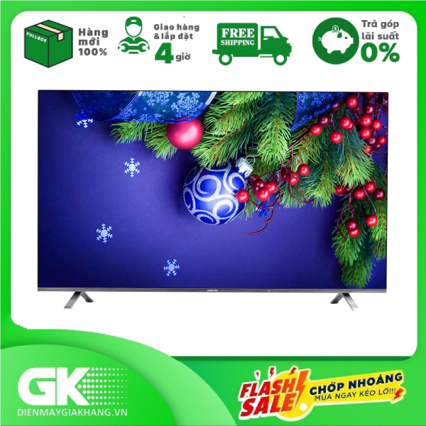 Bảng giá [Nhập ELAPR21 giảm 10% tối đa 200k đơn từ 99k]Smart tivi Asanzo iSlim 4K 55 inch 55SL800