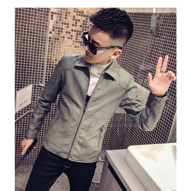 Áo da nam cao cấp ,áo khoác da nam chất liệu da Dê cao cấp chống nhăn , chống nước ,chống gió ,áo da thời trang nam