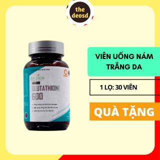 [[ Tặng Mặt Nạ ]] - Viên Uống Glutathione 600 Dr. Lacir - Viên Uống Nám Dr. Lacir Viên Uống Dr. Lacir Viên Uống Nám Da Viên Uống Trắng Da Dr. Lacir Viên Tàn Nhang Viên Sinh Lý Nữ Viên Dưỡng Da - Hàn Quốc - The Deo thumbnail