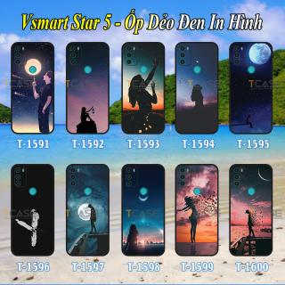 [HCM]Ốp lưng Vsmart Star 5 - Ốp dẻo đen in hình Tâm Trạng siêu đẹp siêu ngầu thumbnail