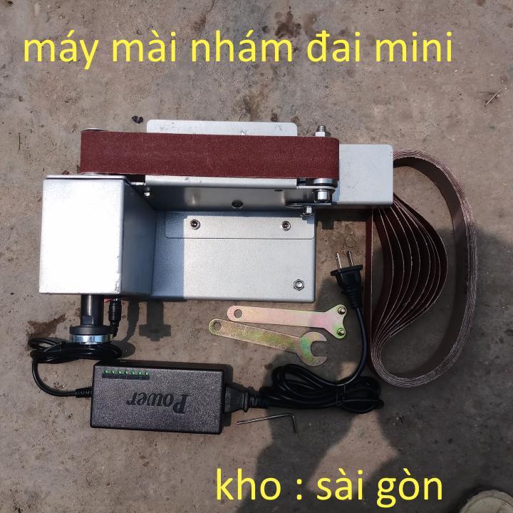 máy mài nhám đai mini V1