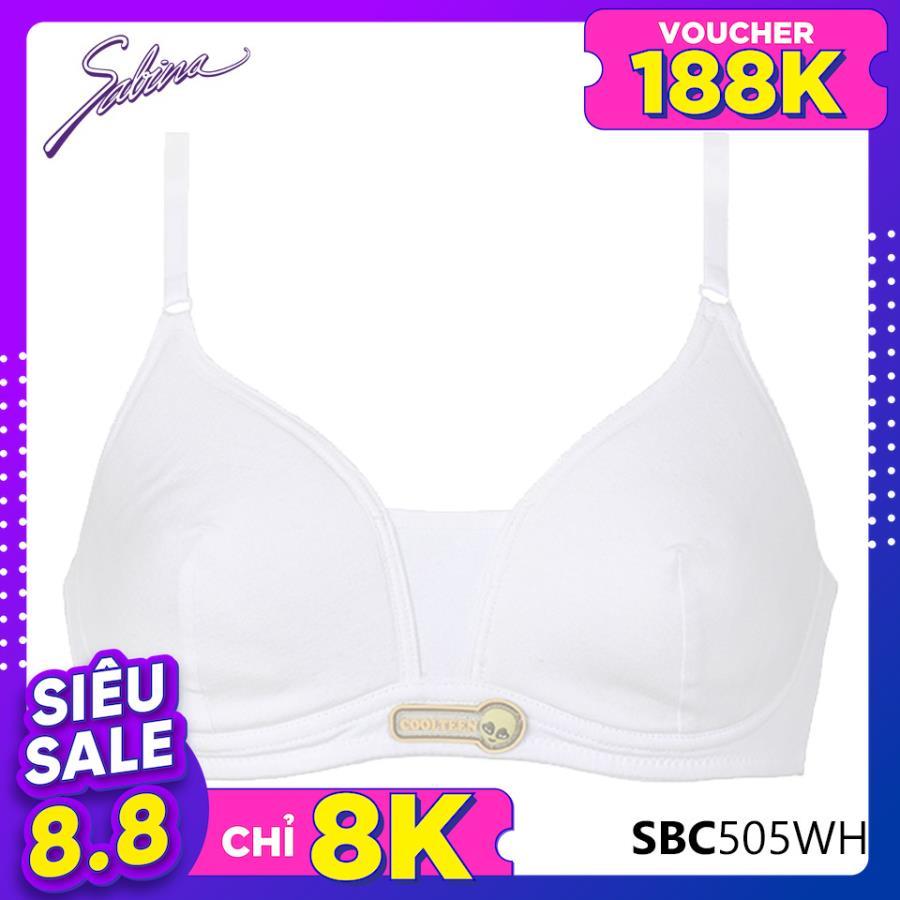 Áo Lót Đệm Mỏng Cho Bé Gái Màu Trắng Cool Teen By Sabina SBC505WH