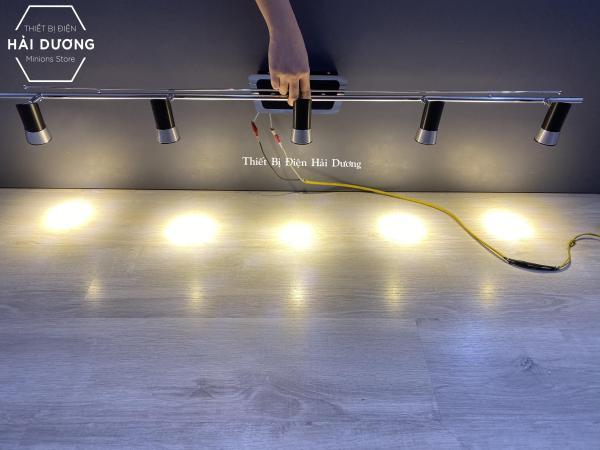 Đèn soi tranh - Đèn rọi gương Led Đèn soi gương model 8149/5 25w - Ánh sáng vàng - Các Khớp nối đèn điều chỉnh được góc chiếu
