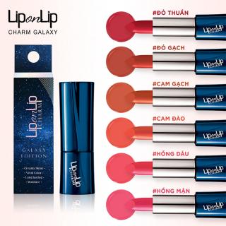 [HCM](HSD 9 2023) Son thỏi Collagen Lip On Lip Charm Galaxy Edition 4g thumbnail