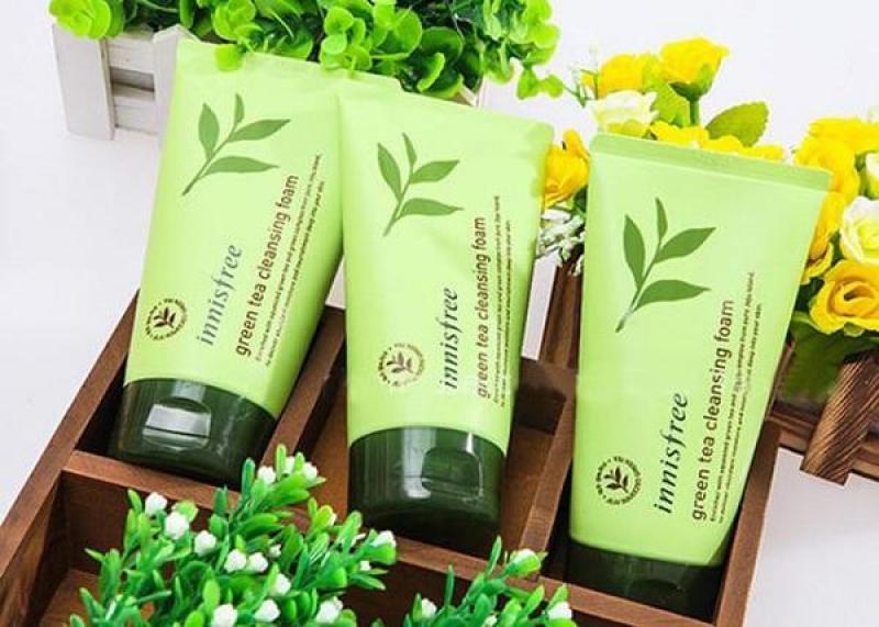 Sữa Rửa Mặt Innisfree Green Tea Cleansing Foam Trà Xanh 150ml nhập khẩu