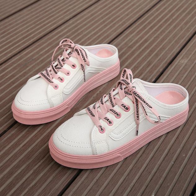 Giày hở gót đế cao su Fashion - G074 giá rẻ