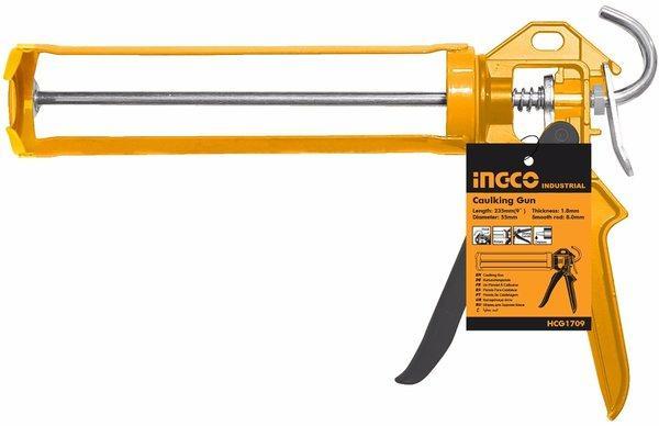 9inch Dụng cụ bắn silicon chống nhỏ giọt INGCO HCG1709