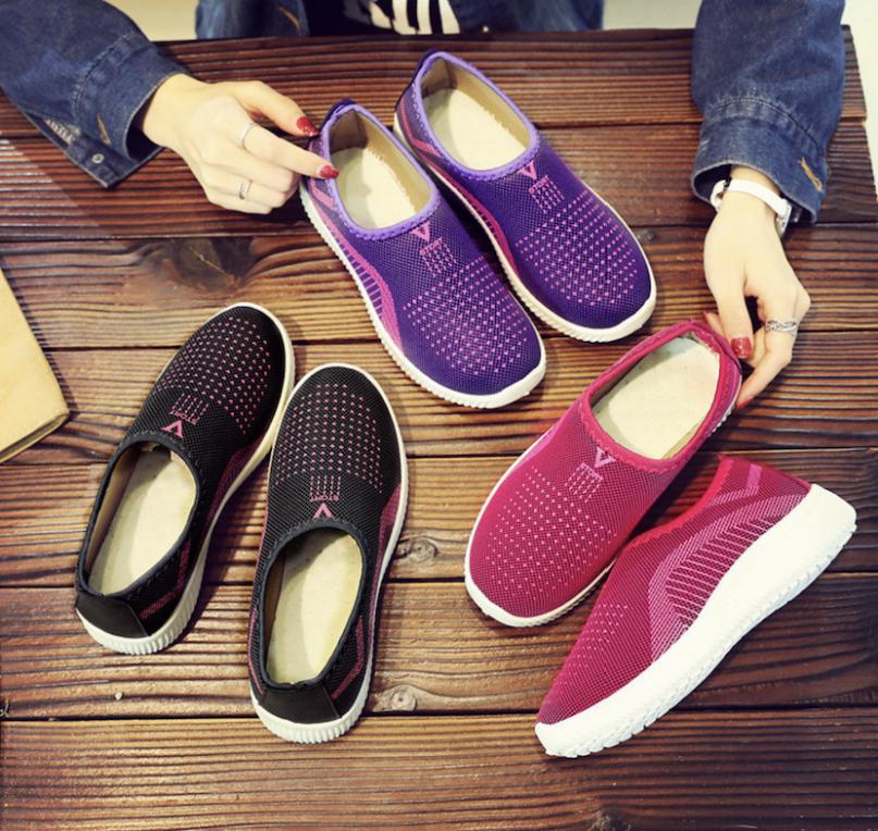 {GIÁ SIÊU SỐC CHO MÙA NÓNG} Giày thể thao vải, giày phối vải, giày sneaker giày lười nam nữ siêu êm chân size 36-37-38-39-40-41 (Hàng có 3 màu) giá rẻ