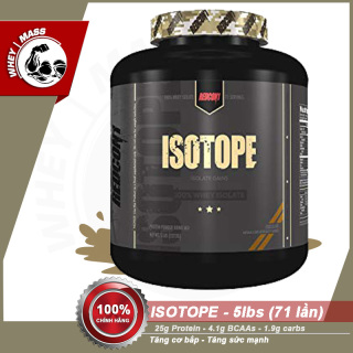 Sữa Tăng Cơ Bắp 100% isolate Whey Isotope 5lbs - Redcon1 Authentic 100% thumbnail