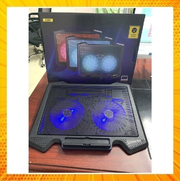 Bảng giá Đế Tản Nhiệt Laptop Cooler Pad S200 - Fan Notebook Cooler Pad S200n Led Phong Vũ