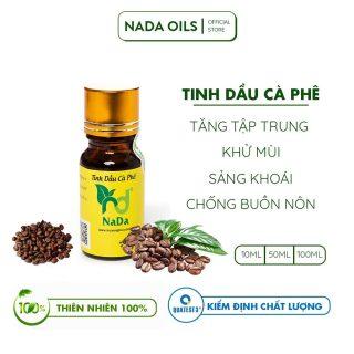 Tinh dầu Cà phê (Cafe) nguyên chất Nada Kiểm định QT3 Khử mùi mạnh, tăng tập trung, Chống buồn nôn thumbnail