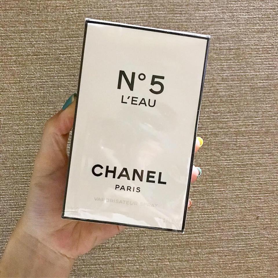 Nước Hoa Nữ Chanel N°5 L'Eau (100ml)
