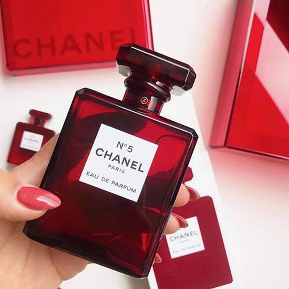 NƯỚC HOA NO 5 PARIS ĐỎ nhập khẩu
