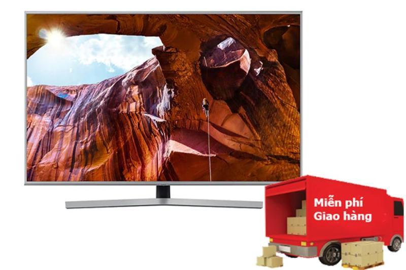 Bảng giá Tivi Samsung 4K 43 inch UA43RU7400 Mẫu 2019