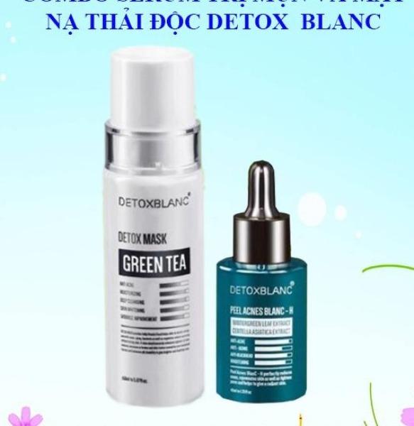 Combo Serum Mun Và Mặt Nạ Detox BlanC cao cấp