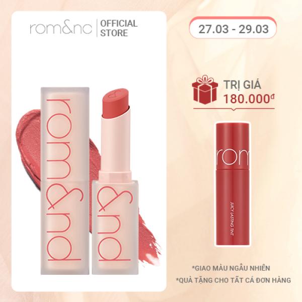 [New] Son Lì Siêu Nhẹ Môi Romand Zero Matte Lipstick 4.5g