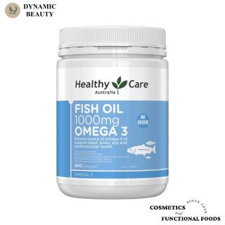 [Hàng chuẩn Úc] Viên uống dầu cá Healthy care fish oil 1000mg omega 3 400 viên của Úc thumbnail