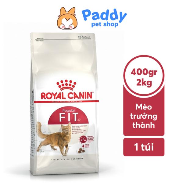Hạt Royal Canin Fit 32 Cho Mèo Trưởng Thành Ít Vận Động