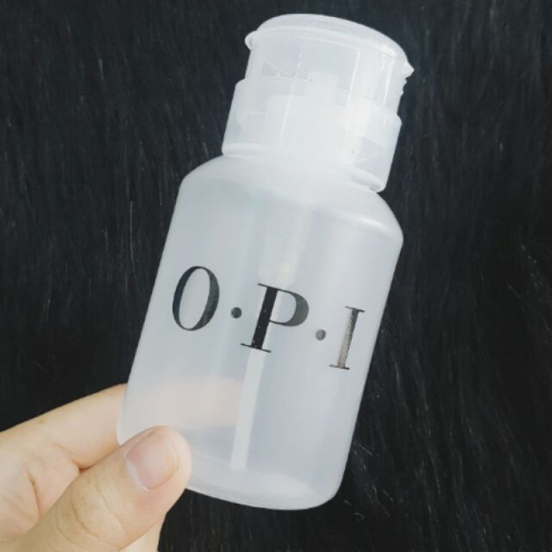 Bình đựng acetone (Bình đựng nước rửa móng tay) - Nhựa tốt