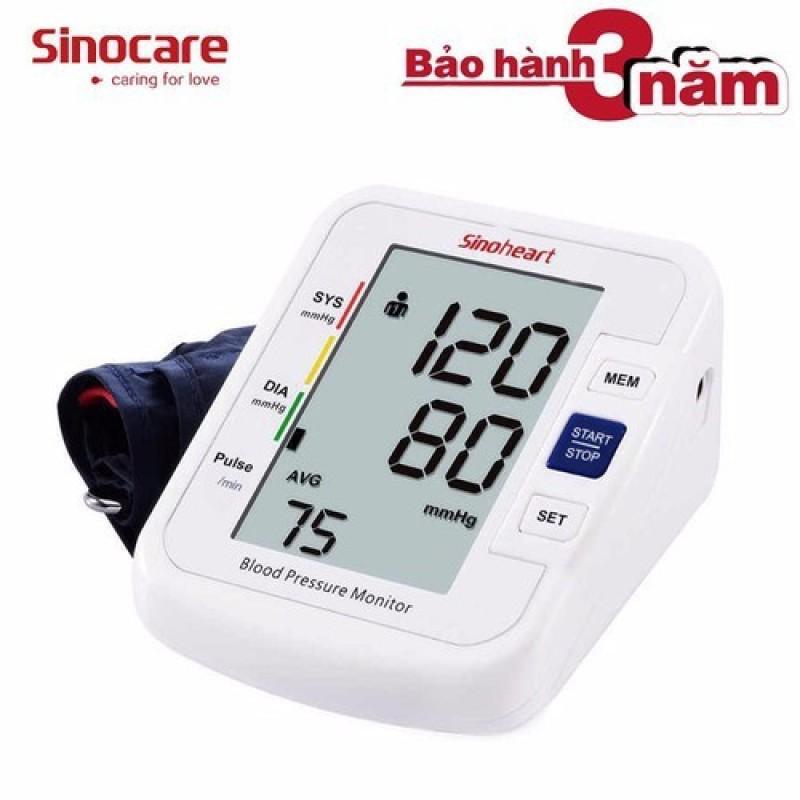 Nơi bán Máy đo huyết áp bắp tay Sinoheart BA-801 - Sinocare Công nghệ Đức