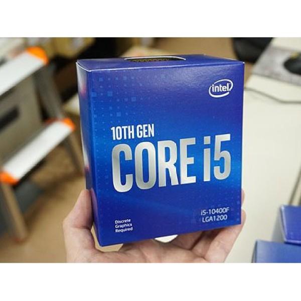 Bảng giá CPU intel core i5 10400f (2.9ghz turbo up to 4.3ghz 6 nhân 12 luồng) - socket intel lga 1200, sản phẩm tốt, chất lượng cao, cam kết như hình, độ bền cao Phong Vũ